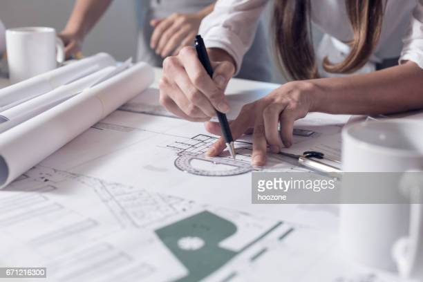 Drawing on Blueprints