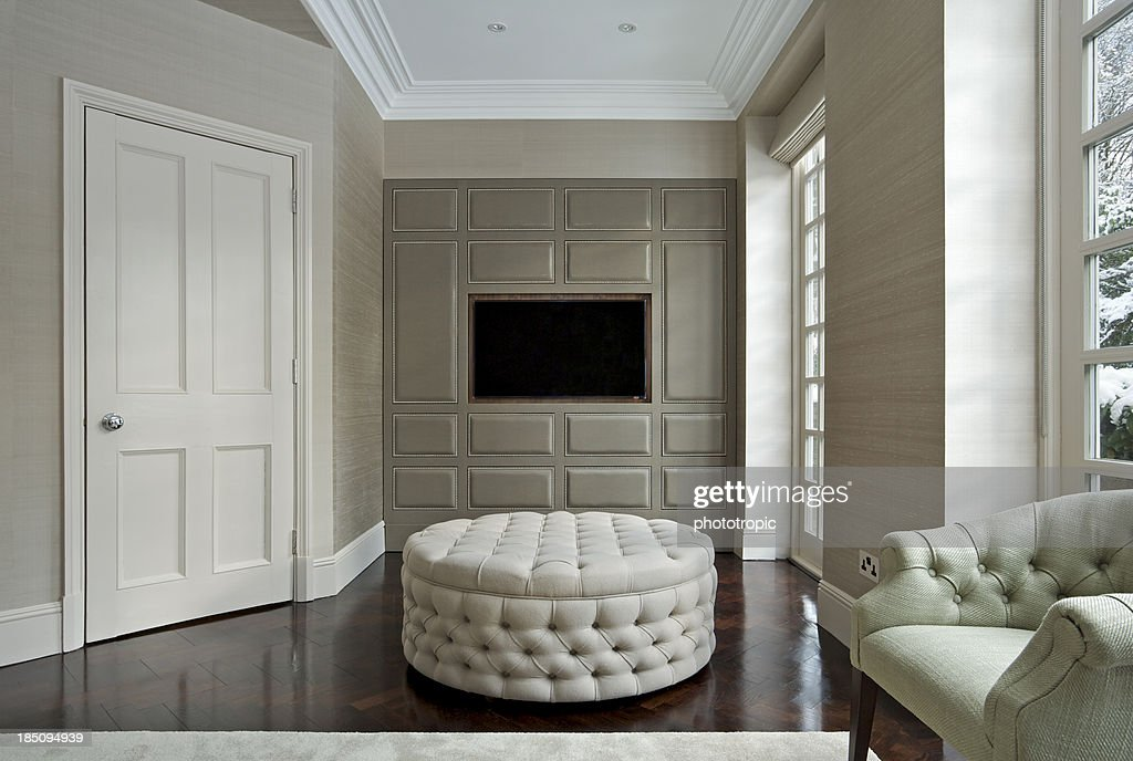 drawing room with TV watching area
