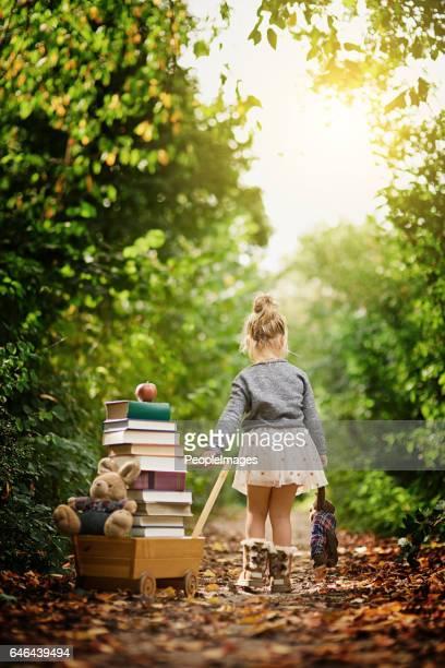 Drawn towards her natural  surroundings