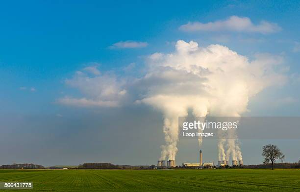 Drax Power Station is the largest and most efficient coal fired power station in the UK