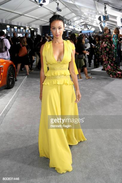 Draya Michele at the 2017 BET Awards at Staples Center on June 25 2017 in Los Angeles California
