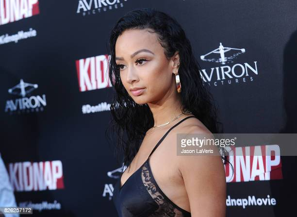 Draya Michele attends the premiere of 'Kidnap' at ArcLight Hollywood on July 31 2017 in Hollywood California