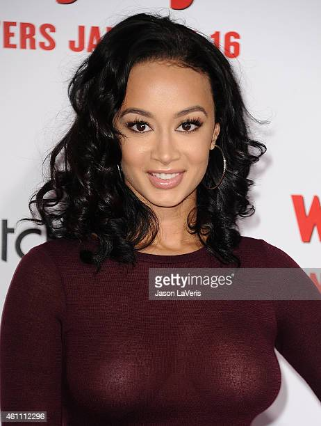 Draya Michele attends the premiere of 'The Wedding Ringer' at TCL Chinese Theatre on January 6 2015 in Hollywood California