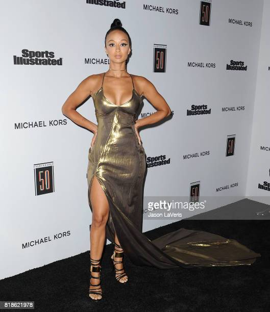 Draya Michele attends the Sports Illustrated Fashionable 50 event at Avenue on July 18 2017 in Los Angeles California