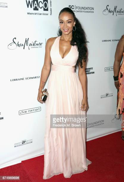 Draya Michele attends the Wearable Art Gala at California African American Museum on April 29 2017 in Los Angeles California