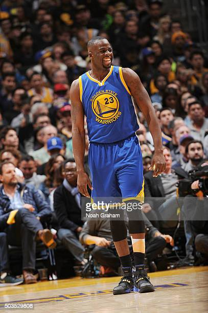 Draymond Green of the Golden State Warriors during the game against the Los Angeles Lakers on January 5 2016 at STAPLES Center in Los Angeles...