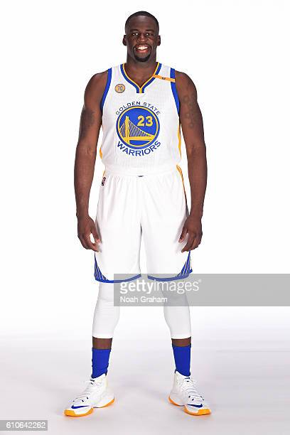 Draymond Green of the Golden State Warriors poses for a portrait during NBA Media Day at Oracle Arena in Oakland California on September 26 2016 NOTE...