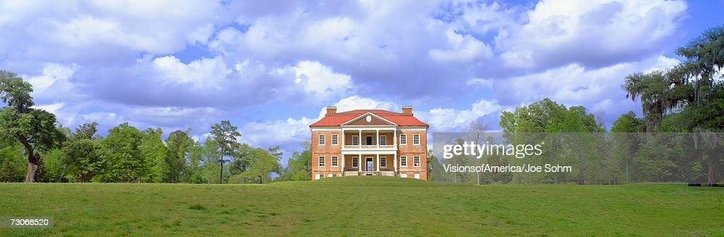 'Drayton Hall, historic plantation from 1738, Charleston, South Carolina'