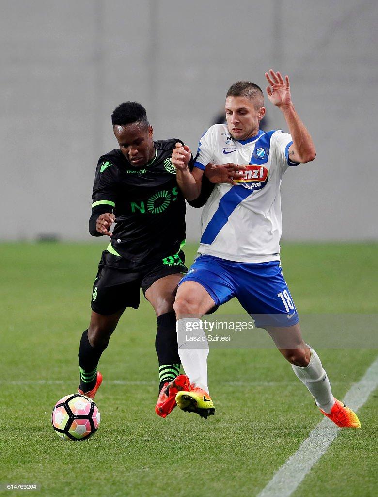 Fotos e imagens de MTK Budapest v Sporting CP