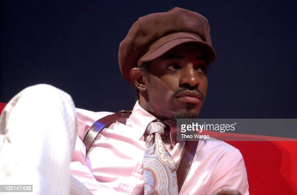 Dre of OutKast during 'Arista Reloaded' at the 2003 BMG US Label Presentations in New York City United States