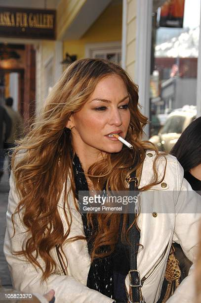 Drea De Matteo during 2007 Park City Seen Around Town Day 4 in Park City Utah United States
