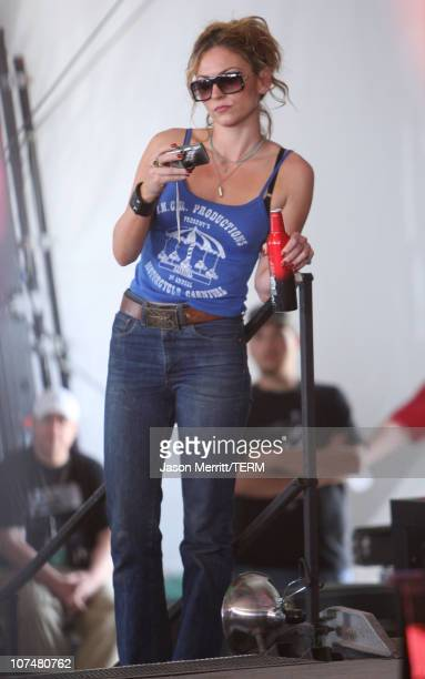 Drea de Matteo during Bonnaroo 2006 Day 3 Sightings in Manchester Tennessee United States