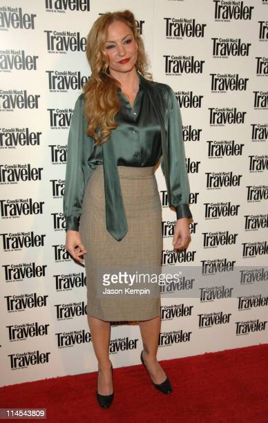 Drea de Matteo during Conde Nast Traveler 19th Annual Readers Choice Awards October 16 2006 at American Museum of Natural History in New York City...