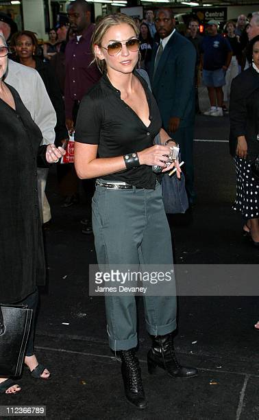 Drea de Matteo during 'Frankie and Johnny in the Clair de Lune' Opening Night at Belasco Theatre in New York City New York United States