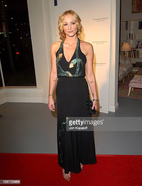 Drea de Matteo during The Paper Bag Princess Boutique Opening Arrivals at The Paper Bag Princess Boutique in Beverly Hills California United States