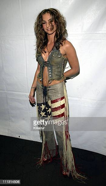 Drea de Matteo during VH1 Big in 2002 Awards Arrivals at The Grand Olympic Auditorium in Los Angeles California United States