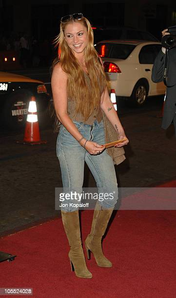 Drea De Matteo during Warner Bros Pictures' 'North Country' Los Angeles Premiere Arrivals at Grauman's Chinese Theatre in Hollywood California United...