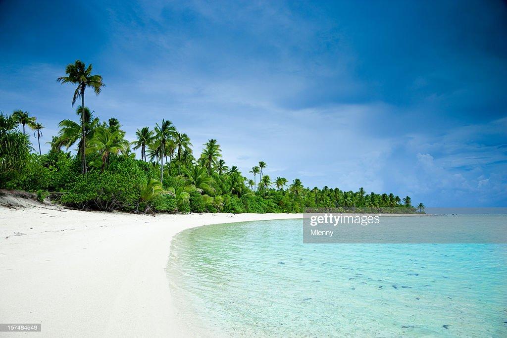 Dream Beach Aitutaki One Foot Island Cook Islands