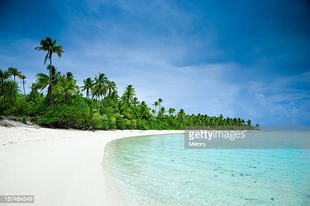 Dream Beach Aitutaki One Foot Island Cook Islands