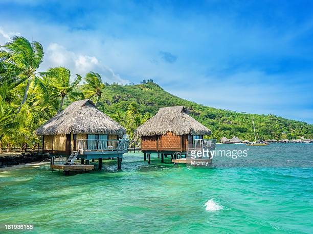 Vacances de rêve centre de villégiature de luxe à Tahiti
