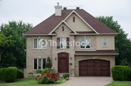 Dream House Home Luxury Mansion Success Stock Photo