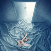 dream in blue room