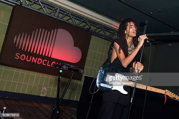 Dream Koala performs during the SoundCloud Go Launch party at Prince Charles on December 8 2016 in Berlin Germany