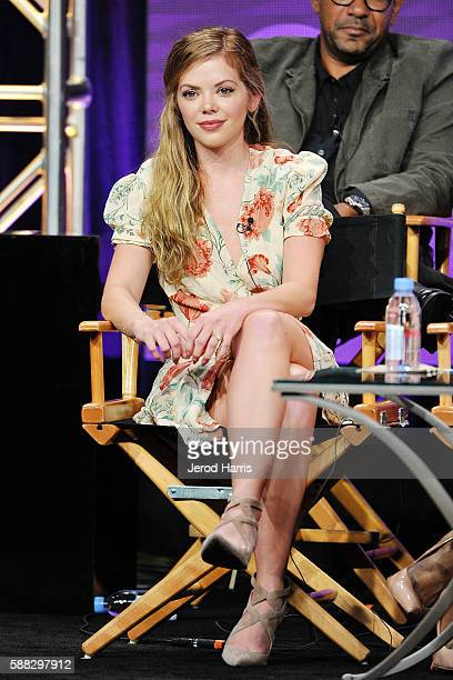 Dreama Walker attends the CBS 2016 Summer TCA Panel at The Beverly Hilton Hotel on August 10 2016 in Beverly Hills California