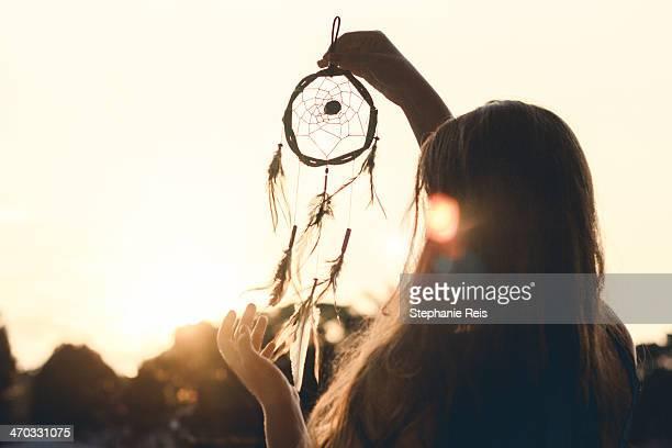 Dreamcatcher and sunlight