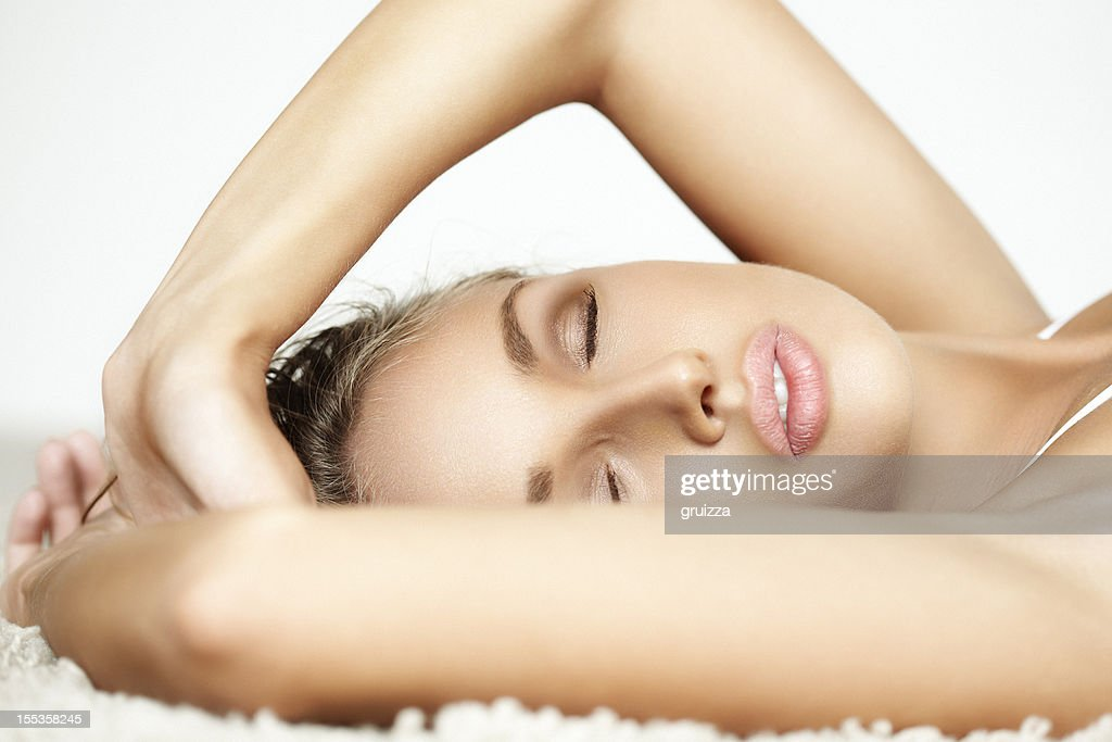 Dreaming Beauty : Stock Photo