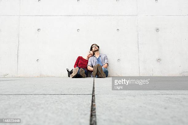 Dreaming couple