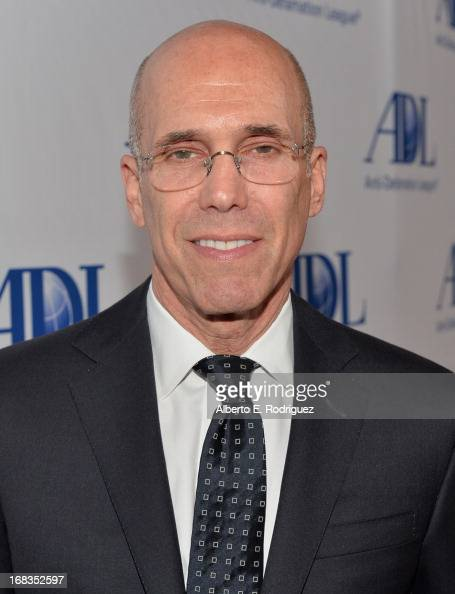 Dreamworks Animation CEO Jeffrey Katzenberg attends the AntiDefamation League's Centennial Entertainment Industry Award Dinner at The Beverly Hilton...