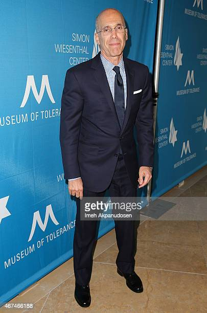 DreamWorks Animation CEO Jeffrey Katzenberg attends the Simon Wiesenthal Center 2015 National Tribute Dinner honoring Harvey Weinstein at The Beverly...