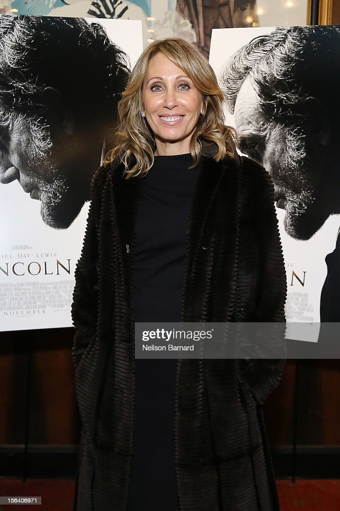 DreamWorks Co-Chairman/CEO Stacey Snider attends the special screening of Steven Spielberg's Lincoln at the Ziegfeld Theatre on November 14, 2012 in New York City.