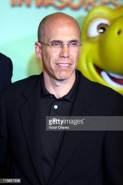 Dreamworks' Jeffrey Katzenberg during 'Over The Hedge' Mexico City Press Conference at Hotel Camino Real in Mexico Mexico Mexico