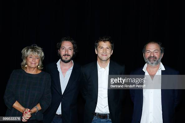 Drector of the movie Daniele Thompson Actors of the movie Guillaume Gallienne Guillaume Canet and President of Lagardere Active and CEO of 'Europe 1'...