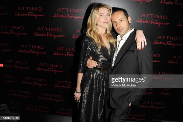 Dree Hemingway and Massimiliano Giornetti attend SALVATORE FERRAGAMO ATTIMO Launch Event at The Standard Hotel on June 30 2010 in New York City