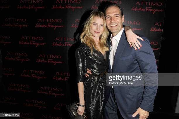 Dree Hemingway and Vincent Ottomanelli attend SALVATORE FERRAGAMO ATTIMO Launch Event at The Standard Hotel on June 30 2010 in New York City