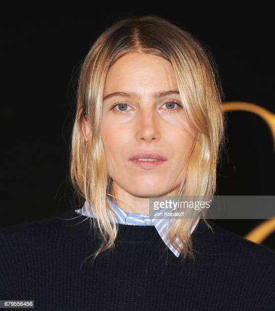 Dree Hemingway arrives at the Panthere De Cartier Party In LA at Milk Studios on May 5 2017 in Los Angeles California