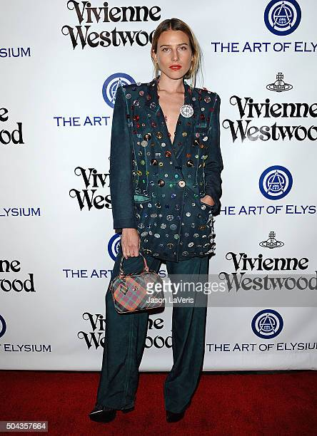 Dree Hemingway attends Art of Elysium's 9th annual Heaven Gala at 3LABS on January 9 2016 in Culver City California