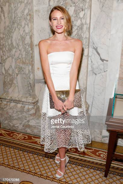 Dree Hemingway attends the 4th Annual amfAR Inspiration Gala New York at The Plaza Hotel on June 13 2013 in New York City