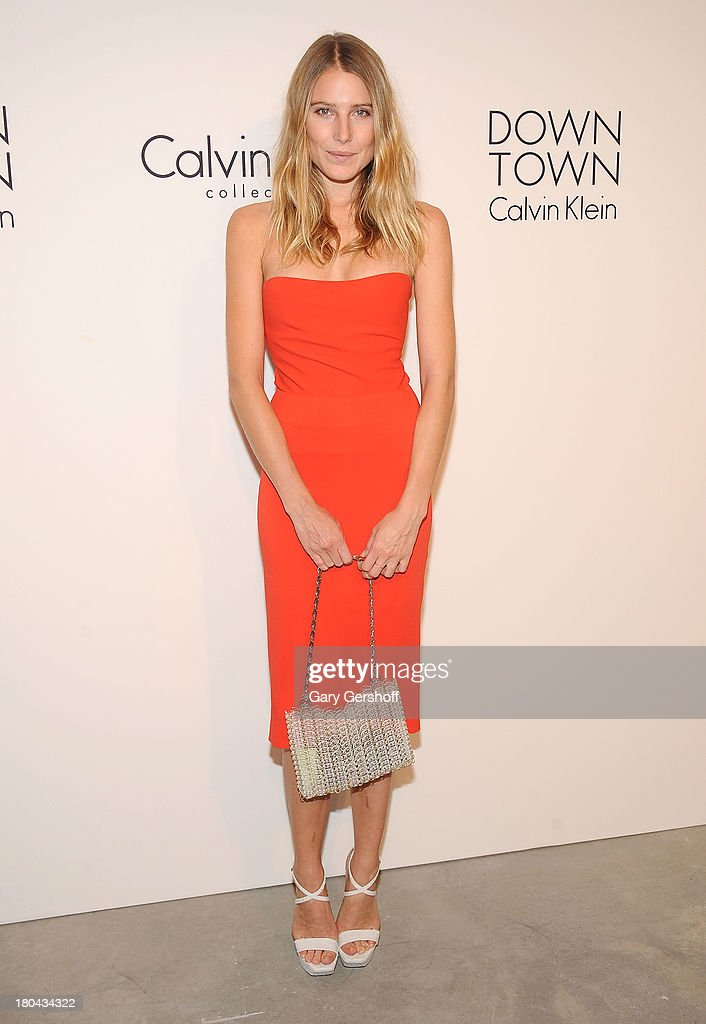 <a gi-track='captionPersonalityLinkClicked' href=/galleries/search?phrase=Dree+Hemingway&family=editorial&specificpeople=5650645 ng-click='$event.stopPropagation()'>Dree Hemingway</a> attends the Calvin Klein Collection post show event at Spring Studios on September 12, 2013 in New York City.