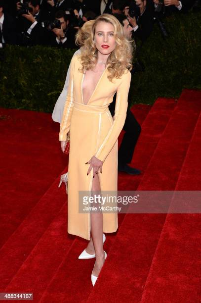 Dree Hemingway attends the 'Charles James Beyond Fashion' Costume Institute Gala at the Metropolitan Museum of Art on May 5 2014 in New York City