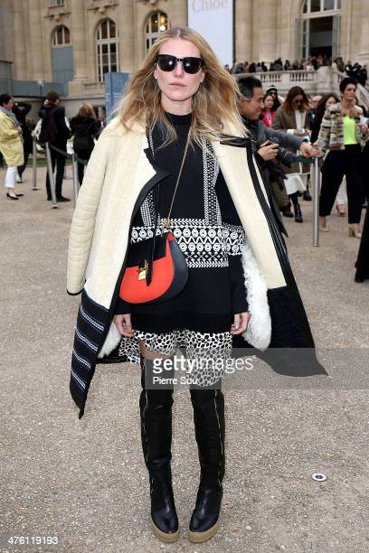 Dree Hemingway attends the Chloe show as part of the Paris Fashion Week Womenswear Fall/Winter 20142015 on March 2 2014 in Paris France
