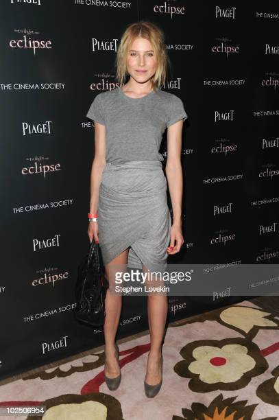 Dree Hemingway attends The Cinema Society Screening Of 'The Twilight Saga Eclipse' at Crosby Street Hotel on June 28 2010 in New York New York
