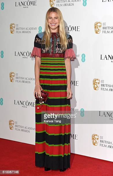 Dree Hemingway attends the Lancome BAFTA nominees party at Kensington Palace on February 13 2016 in London England