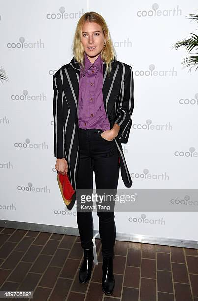 Dree Hemingway attends the launch party for Cool Earth at The Conservatory Barbican Centre on September 23 2015 in London England