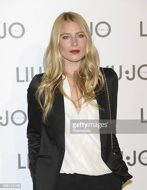 Dree Hemingway attends the Liu Jo flagship store opening on October 30 2014 in Madrid Spain