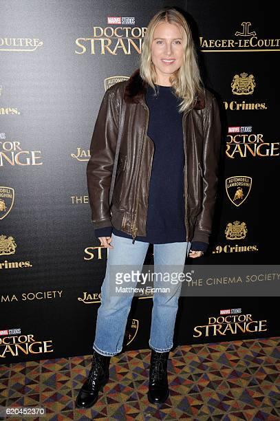 Dree Hemingway attends the screening of Marvel Studios' 'Doctor Strange' at AMC Empire on November 1 2016 in New York City