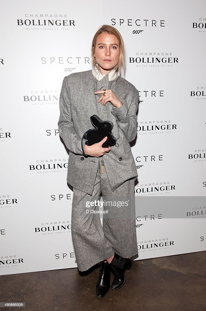 """Spectre Pre-Release Screening Hosted By Champagne Bollinger With The Cinema Society"